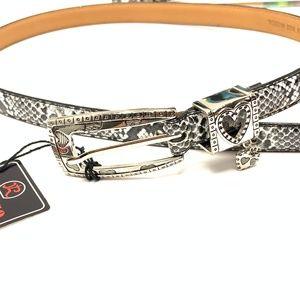 Snake Print Belt size S - M